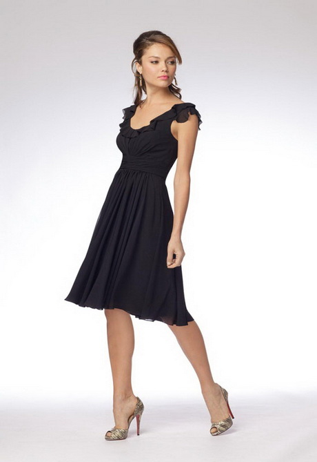 Black wedding guest dress for Black and white dresses for wedding guests