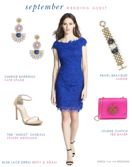 Blue Dresses For Wedding Guest