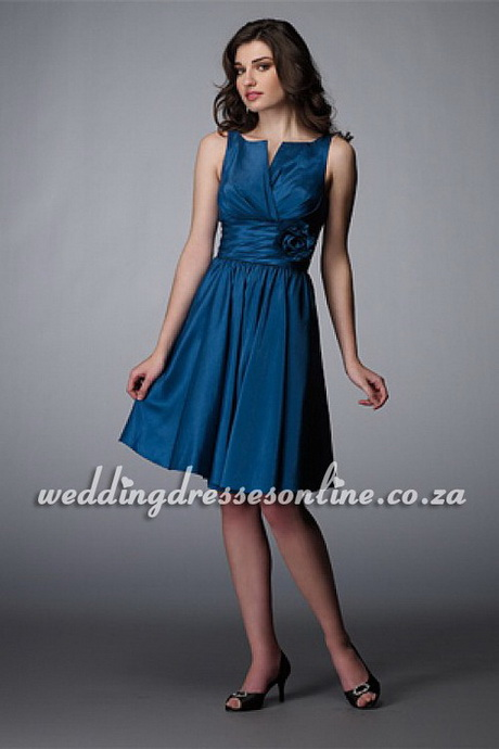 Blue Dresses For Wedding Guest Photo 1