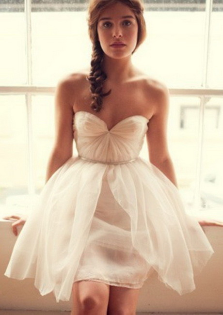 Cute dresses for a wedding for Cute short wedding dresses