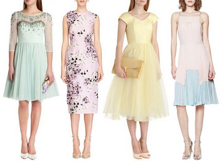 Dresses for wedding day guests for Pastel dresses for wedding guests