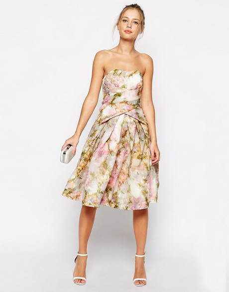 Floral dresses for wedding guests for Floral wedding guest dresses