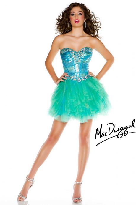 green short prom dress