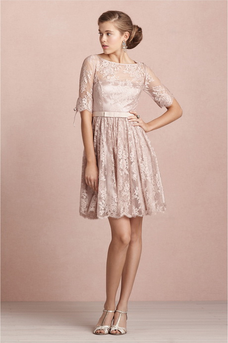 Pink Lace Wedding Guest Dress : Lace dresses for wedding guest