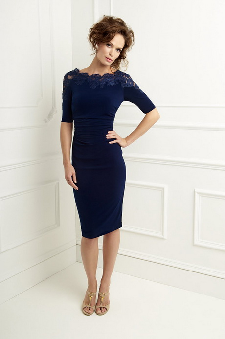 Navy Blue Dress For Wedding Guest