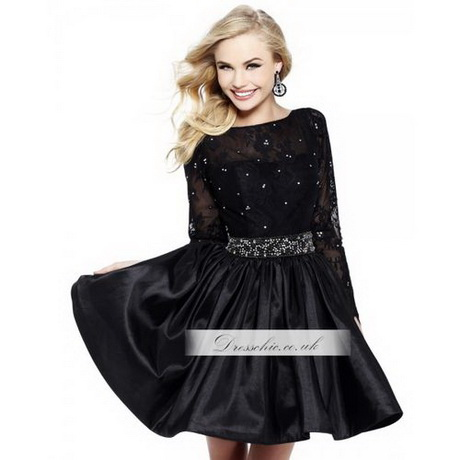 Short Prom Dresses With Long Sleeves