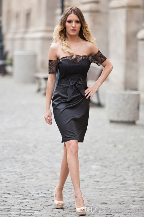 Wedding guest black dress for Black dresses for weddings guests