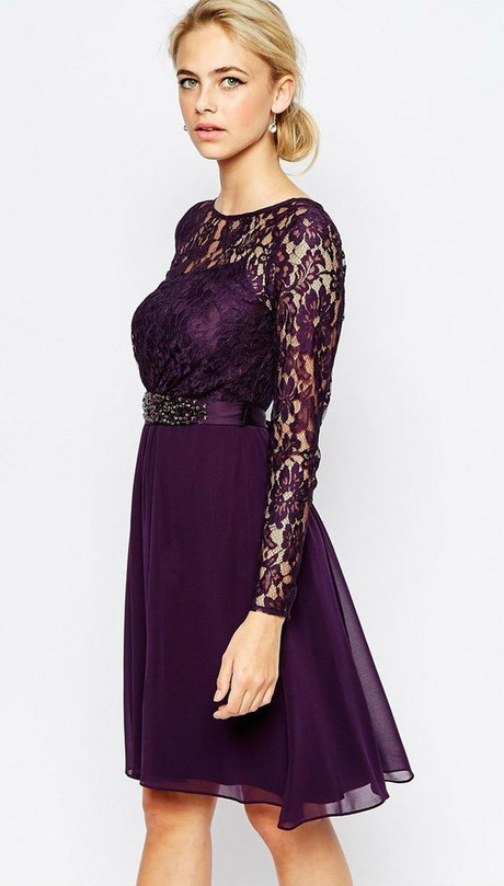 wedding guest dress with sleeves