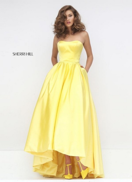 Yellow And Green Prom Dresses 37