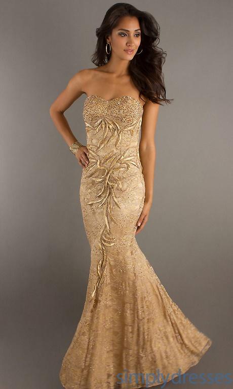 2017 gold prom dresses