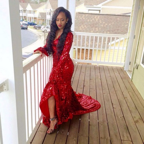 black and red prom dresses 2017