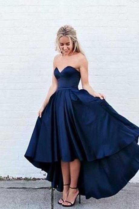 Midnight Blue Prom Dresses 2017