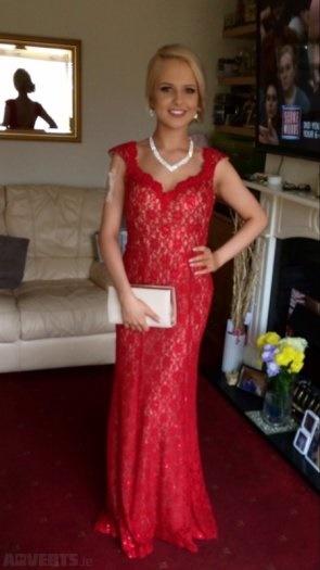 Red Debs Dress