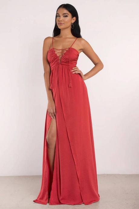 Red Tight Prom Dress