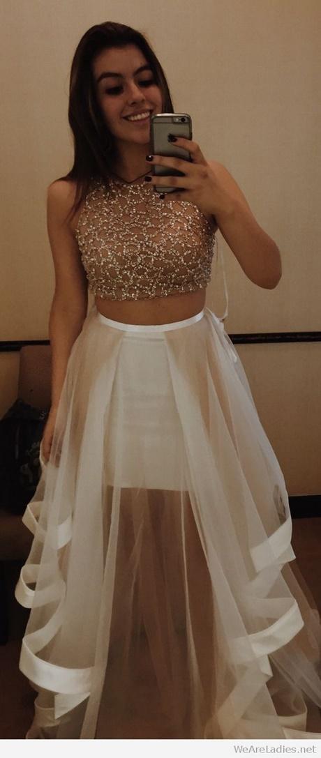 White Prom Skirt