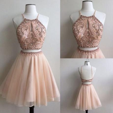 2 piece hoco dresses
