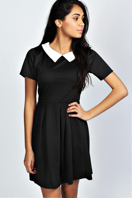 Vintage Inspired Retro Dresses for the Modern day Pin-Up – Modern Grease provides Housewife Dresses, Halter Dresses, Swing Dresses and Curve Hugging Wiggle Dresses. The Serial Killer Black and Pink Skulls Skater Dress. $ Compare Compare View Product Chic Star Ginger 50s V-Neck Dress in Black with White and Black Dot Pleat.