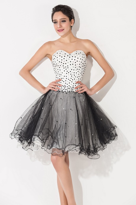 Homecoming Dresses Black And White 50