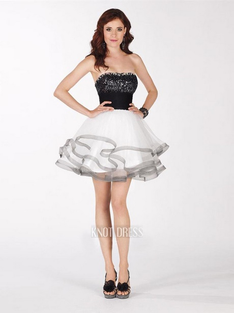 Homecoming Dresses Black And White 41