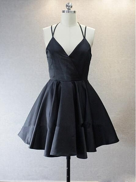 Cute Black Dresses For Homecoming