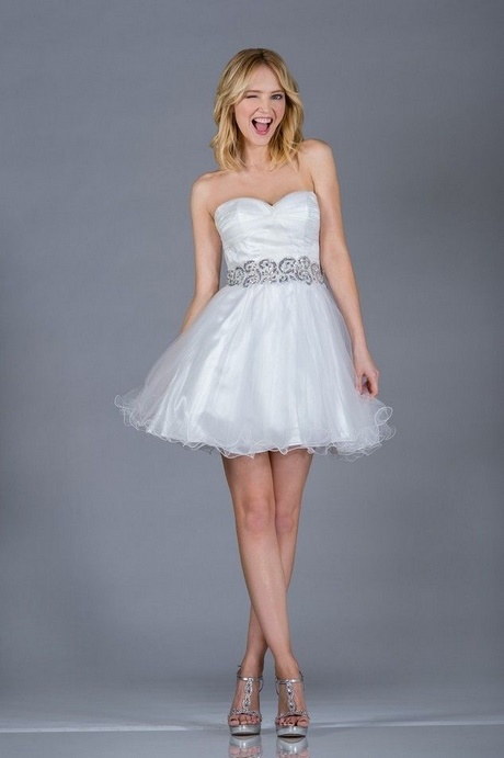 cute white homecoming dresses