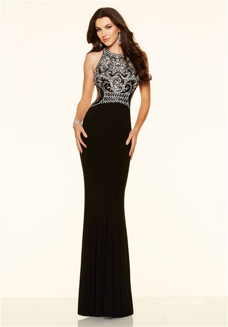 Fitted Black Homecoming Dresses