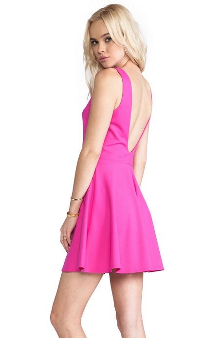 Hot Pink Skater Dress