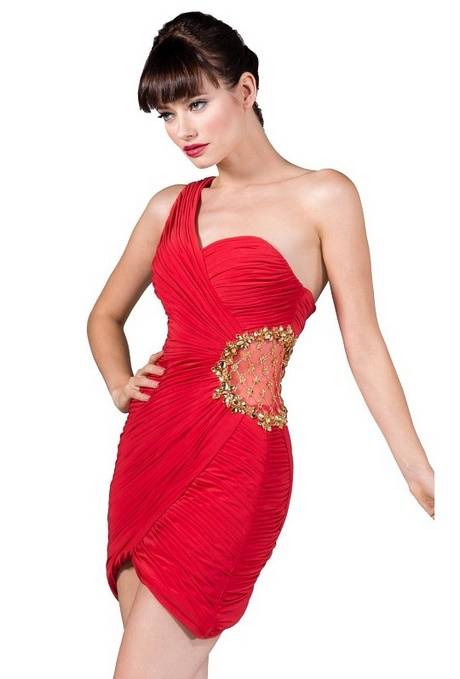 Red short tight homecoming dresses
