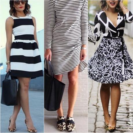 Одежда черно белая
