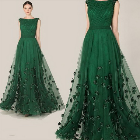 Green Special Occasion Dress