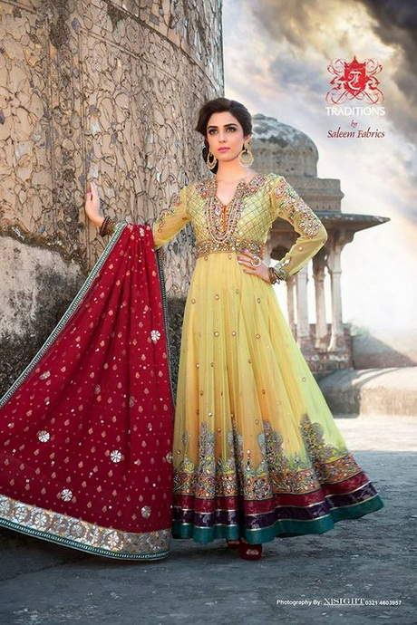 Latest Party Wear Dresses Images 36
