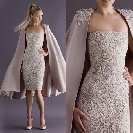 ... Gown Cocktail Dresses with Long Coat Special Occasion Dress Sheath