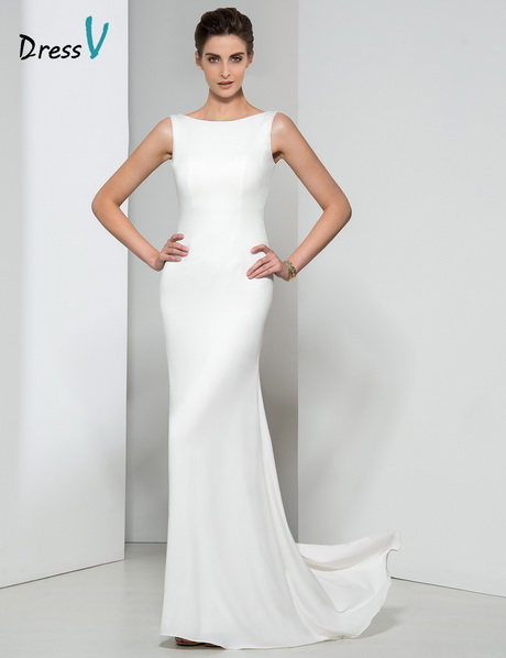 Fashion style White long evening gowns for lady