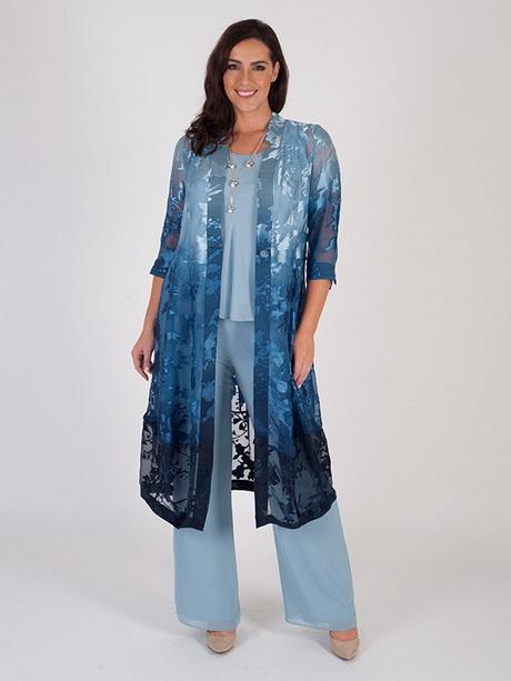 Royal Blue Chiffon Ladies Pants Suits For Weddings 2016 Plus Size ...