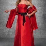 Black and red bridesmaid dresses-67