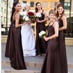 Bridesmaid dresses brown-93
