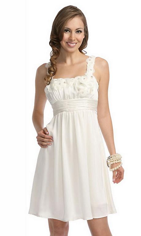 All White Dresses For Juniors