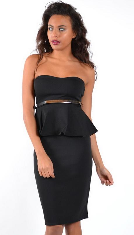 Black Boob Tube Dress