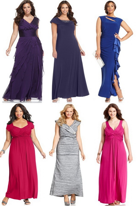 Semi Formal Dresses Plus Size