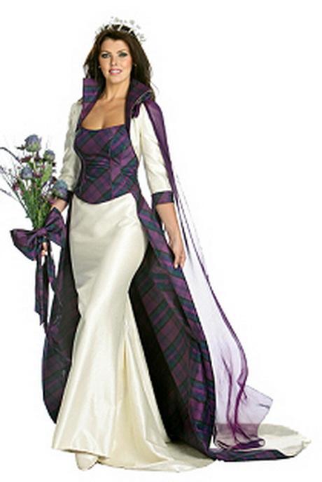 Tartan Wedding Dresses