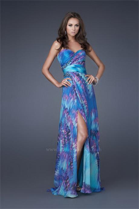 Tie Dye Formal Dresses