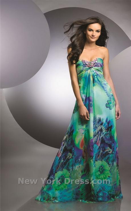 Tropical Evening Dresses