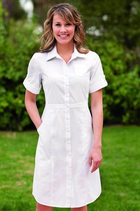 White Nurse Dress