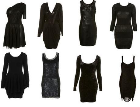 Black Funeral Dresses