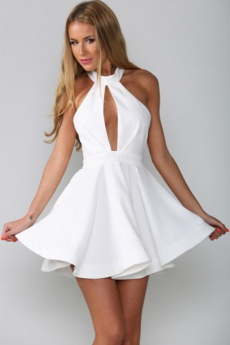 Flowy White Dresses