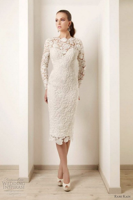 long sleeve short wedding dress sleeve wedding dresses 5588