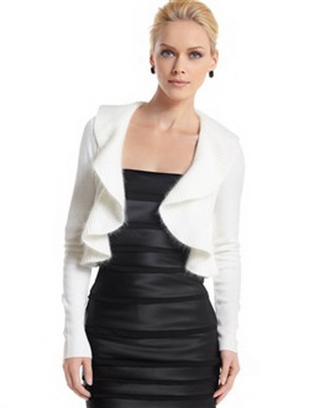 White Shrugs For Dresses