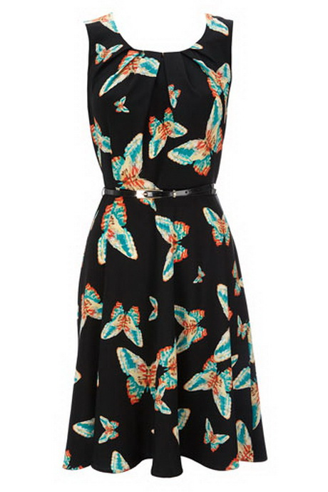 Black Butterfly Dresses