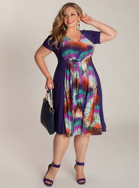 Ladies plus size summer dresses uk