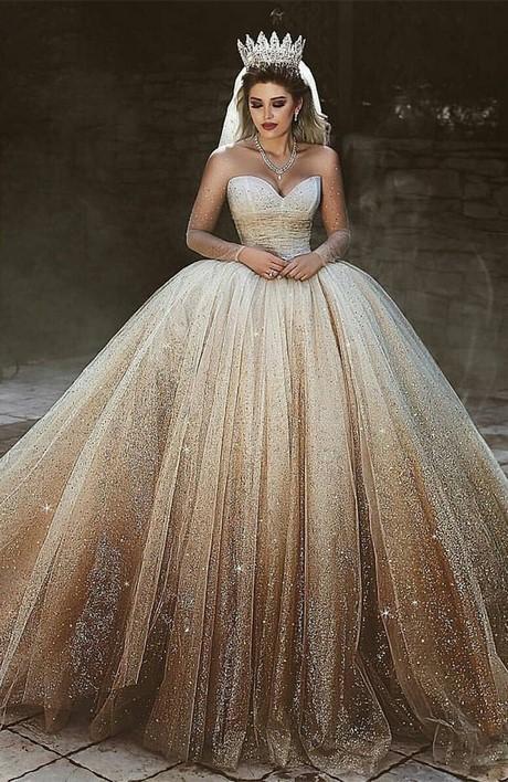 9841a04c051 Luxurious Sweetheart Long Sleeve Wedding Dresses